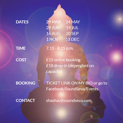 South Ealing Gong Bath ~ Monthly