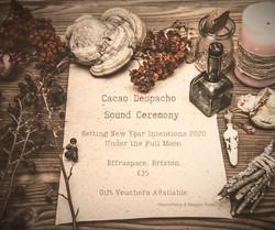 Sacred Cacao Despacho Sound Ceremony