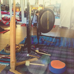 Gong Bath ~ Collaboration with Ladan Soltani, Yoga Teacher, West Ealing