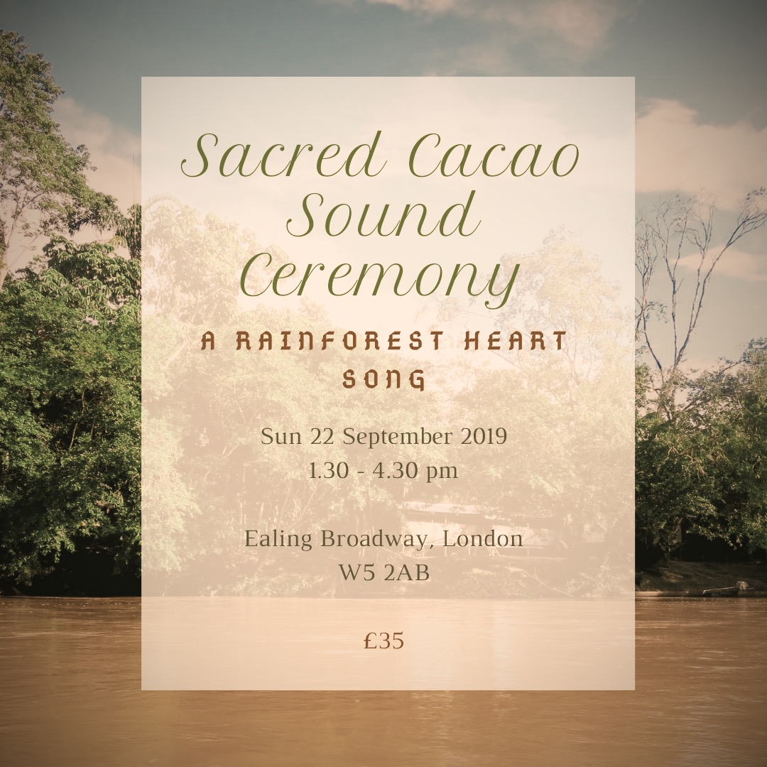 Sacred Cacao Sound Ceremony