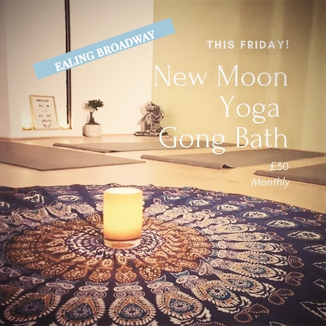 New Moon YogaGong Bath