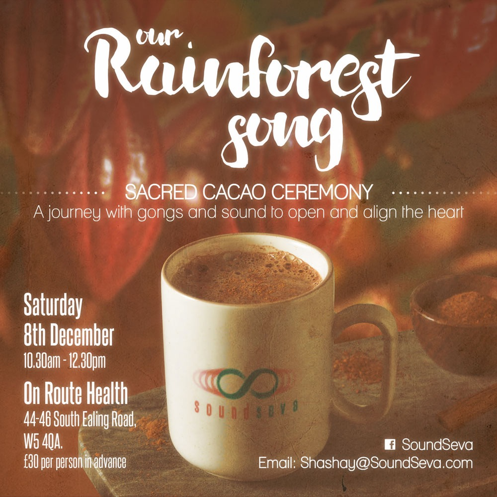 Sacred Cacao Ceremony ~ South Ealing