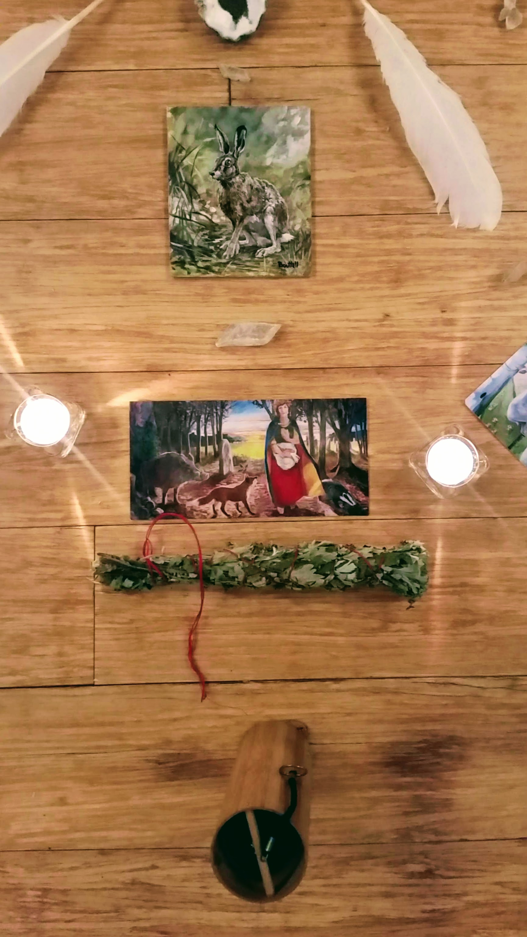 Equinox Artemisia Altar presented by Maggie Rose, Artist and Healer