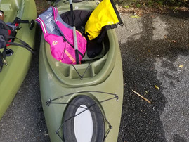 Rewind <==> Worry less, Kayak (ie Train) more!