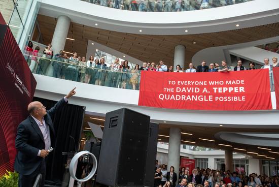 Tepper Quad Grand Opening David Points