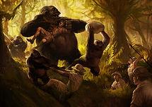 gorilla concept art