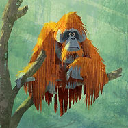 orangutan concept art