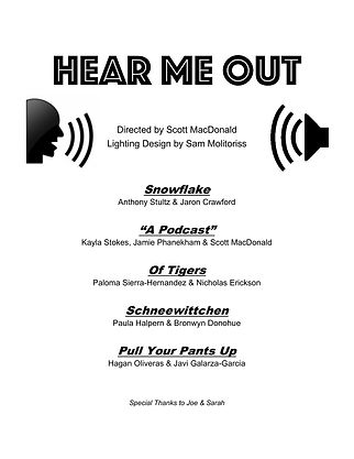 Hear Me Out - Program