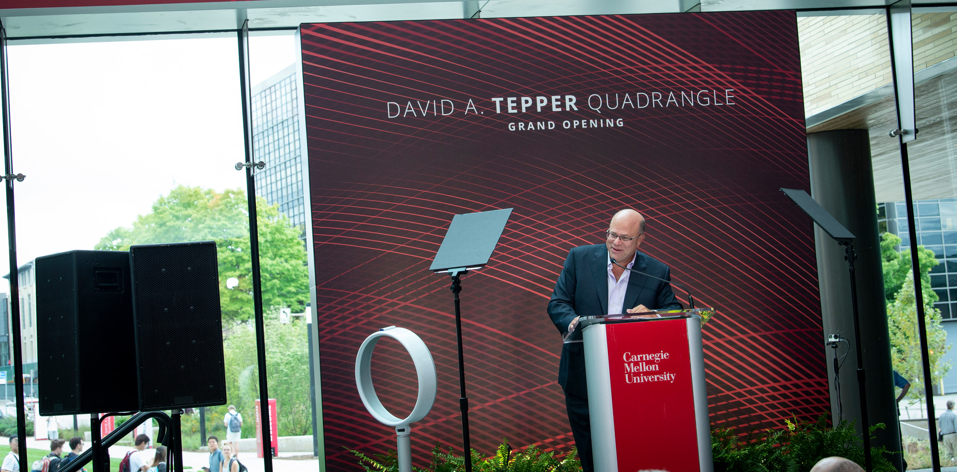 Tepper Quad Grand Opening David