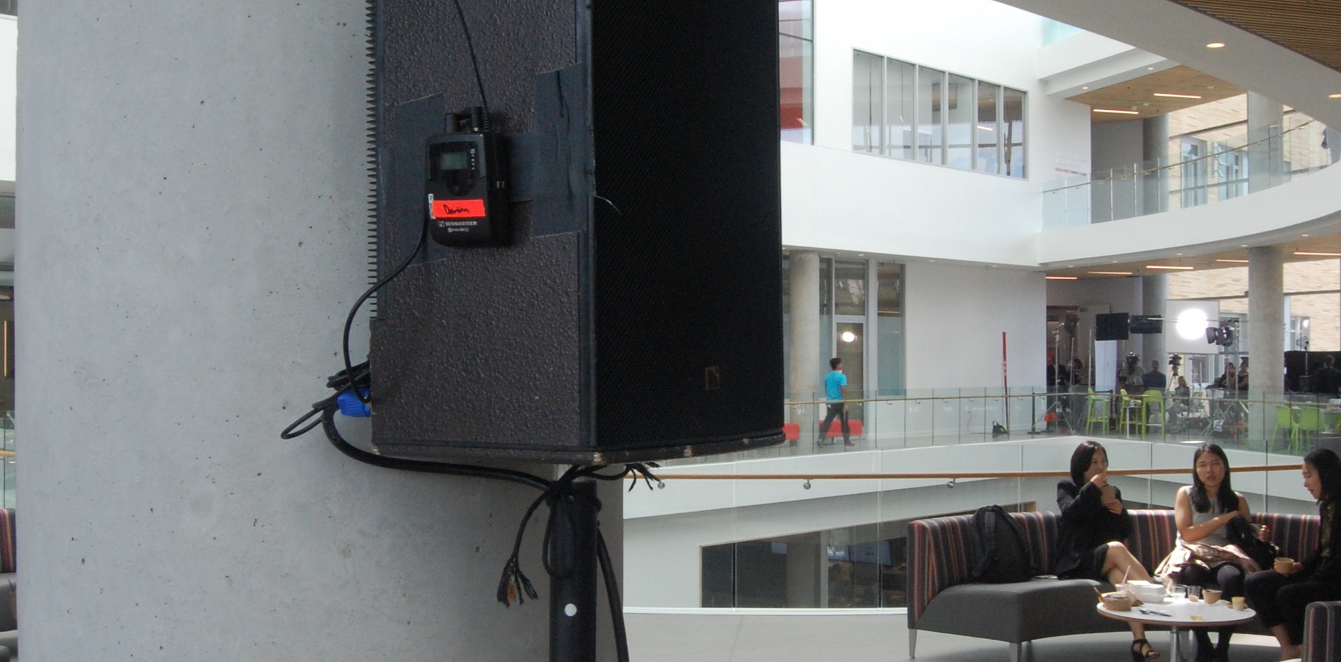Tepper Quad Grand Opening Wireless Audio