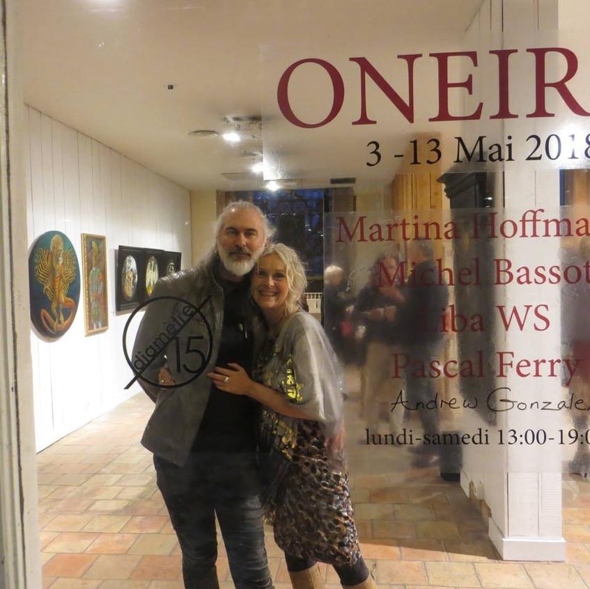 Nous deux Exposition Oneiric Paris 2017.