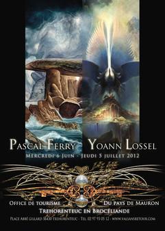 Exposition avec Yoann Lossel 2012