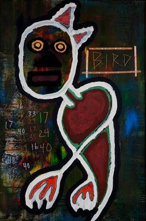 Basquiat's Pet Bird