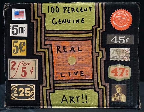 100% Real Live Art!