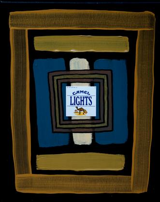 Camel Lights (Self Portrait)