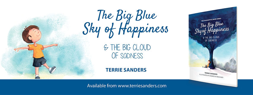 Big Blue Sky of Happiness Facebook banne