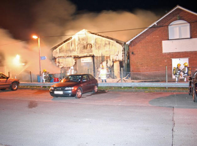 Rubbish being deliberately set alight