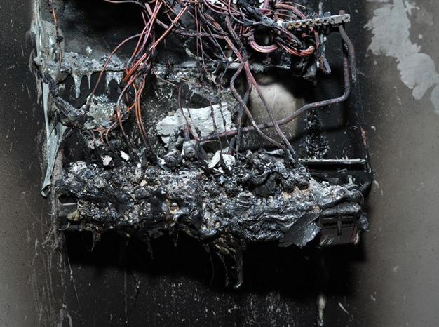 Domestic consumer unit 'fuse box'