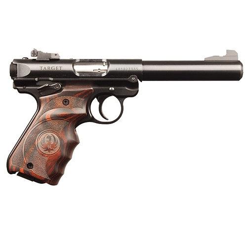 Ruger MK IV Target Rimfire Pistol - Laminated Grips