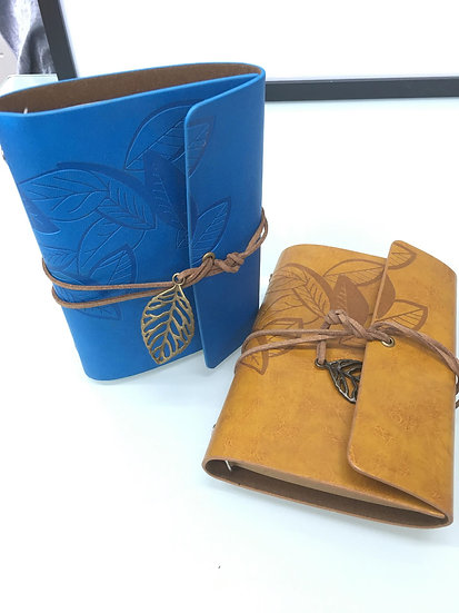 Leather Leaf Journal