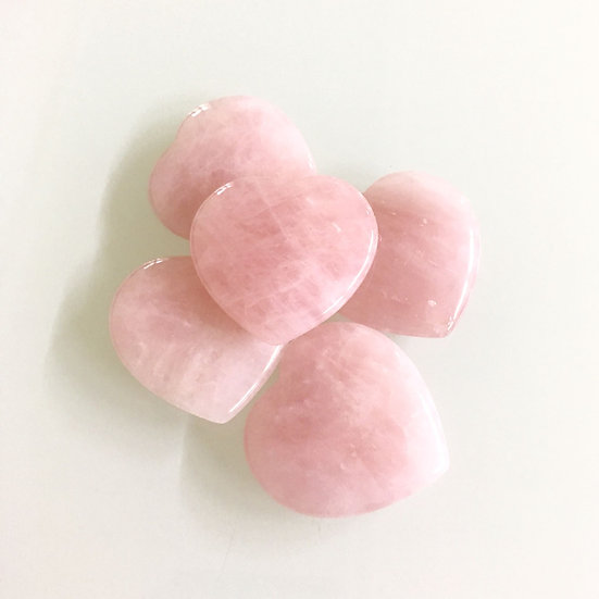 Rose Quartz Hearts