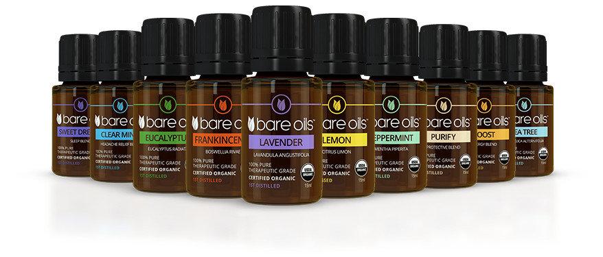 BARE OILS  -  Therapeutic Grade Essential Oils (from$30)