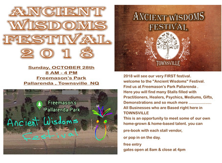 Ancient Wisdoms Festival 2018