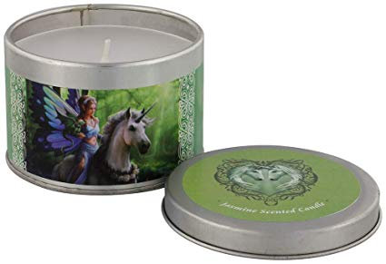 Realm of Enchantment Jasmine Scented Candle (Anne Stokes) unicorn