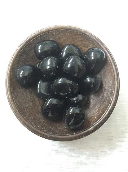 Tumble - Black Obsidian