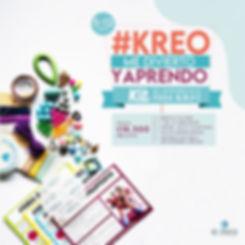 #KREO APRENDO Y ME DIVIERTO