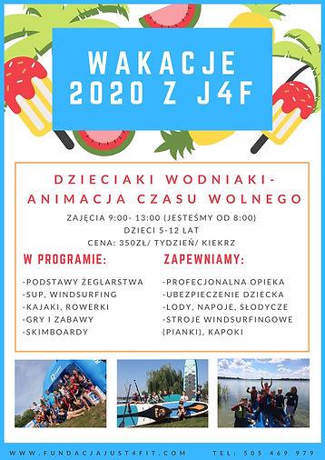 Wakacje 2020 z J4F