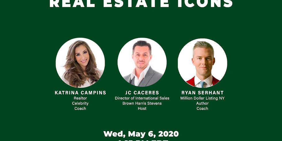 4:15pm.  South Florida's Real Estate Icon's: Rise and Shine