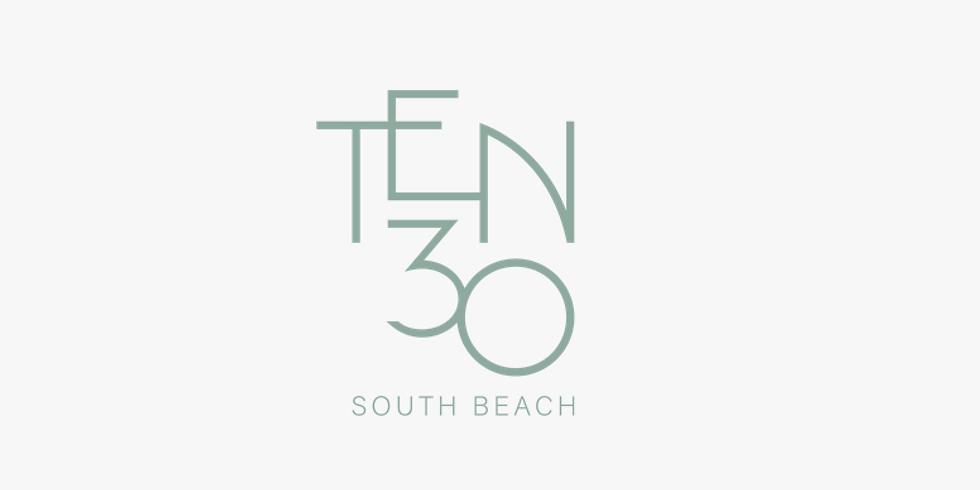 11am.  TEN30 South Beach,  Presentación en Español