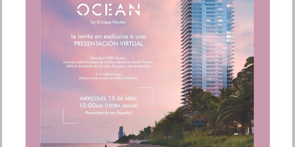 10am.  2000 Ocean Virtual Presentation - Spanish