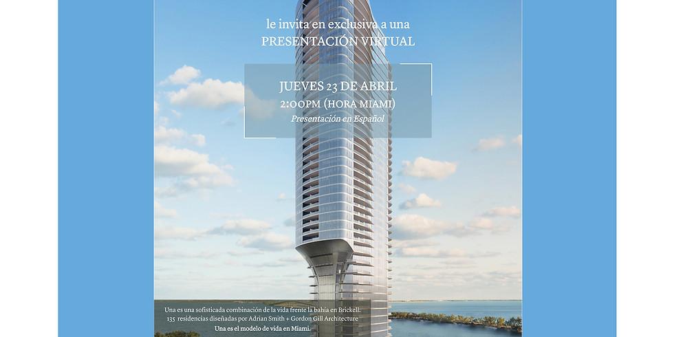Project Presentation: Residencias de Lujo frente a la Bahia en Brickell. Ahora en Construccion