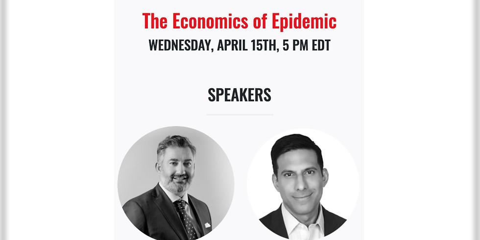 5pm. TRD Talks: The Economics of Epidemic