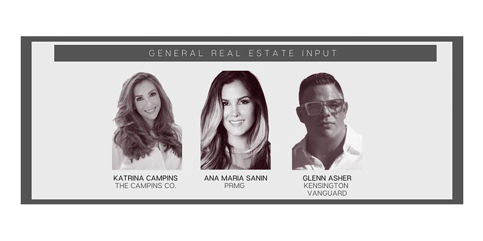 5pm.  State of the Union:  General Real Estate, South Florida