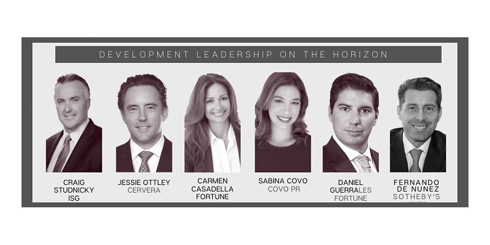 3pm.  State of the Union:  Development Real Estate, South Florida