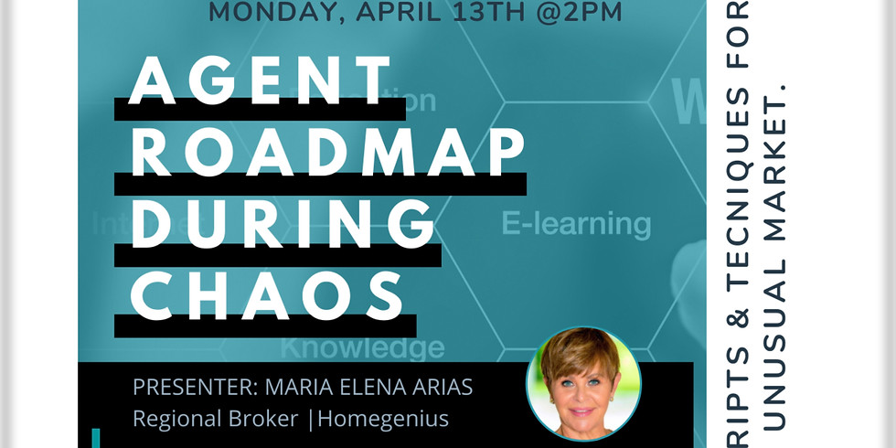 2pm.  HomeGenius: Roadmap to Success During Chaos