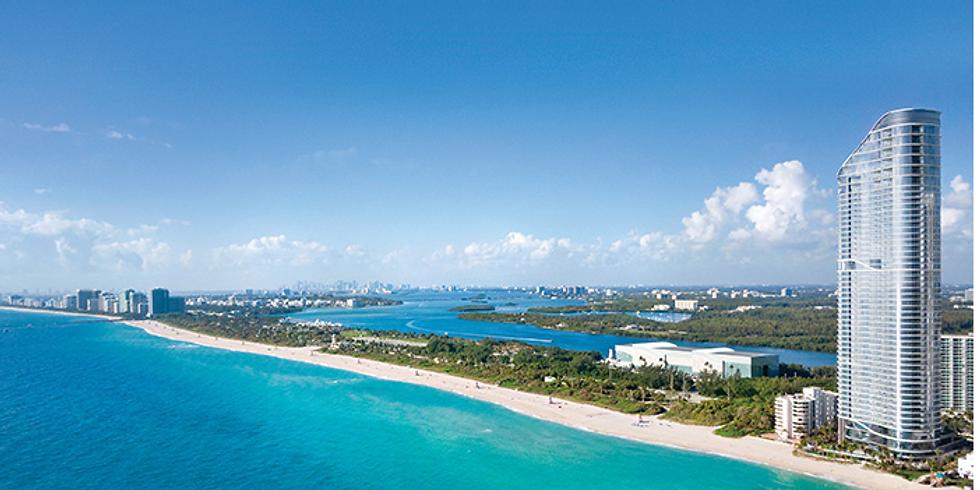 11am.  The Ritz-Carlton Residences Sunny Isles Beach