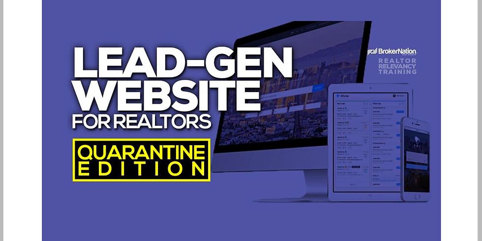 11am.  Lead-Gen Website for Realtors
