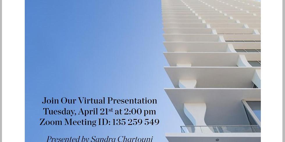 2pm.  Project Presentation:  Jade Signature in Sunny Isles, FL