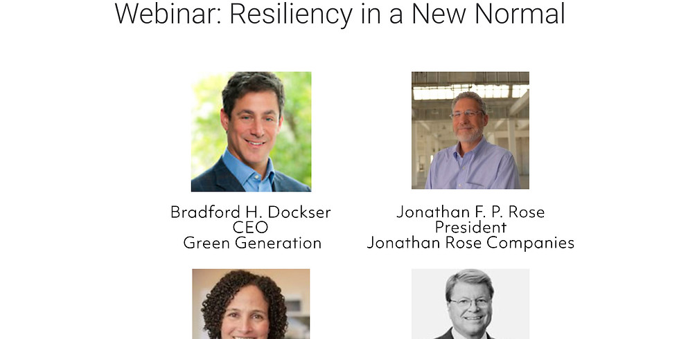 ULI Americas: Resiliency in a New Normal