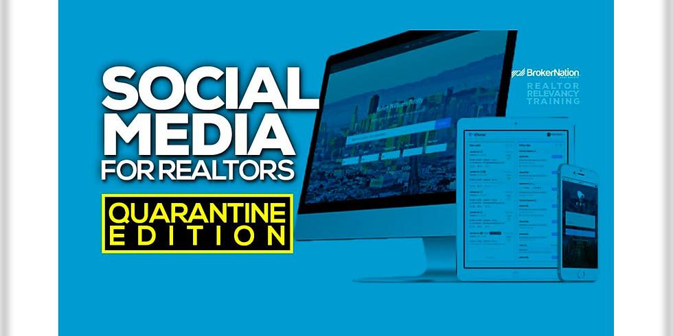11am.  Social Media for Realtors - Quarantine Edition