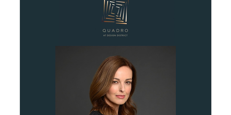 11am.  Quadro at Design District with Montse Costello (Spanish)