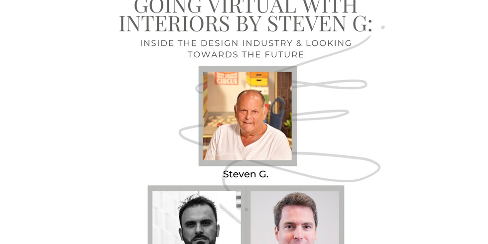 10AM.  StevenG: Inside the Design Industry and looking forward towards the future. (1)