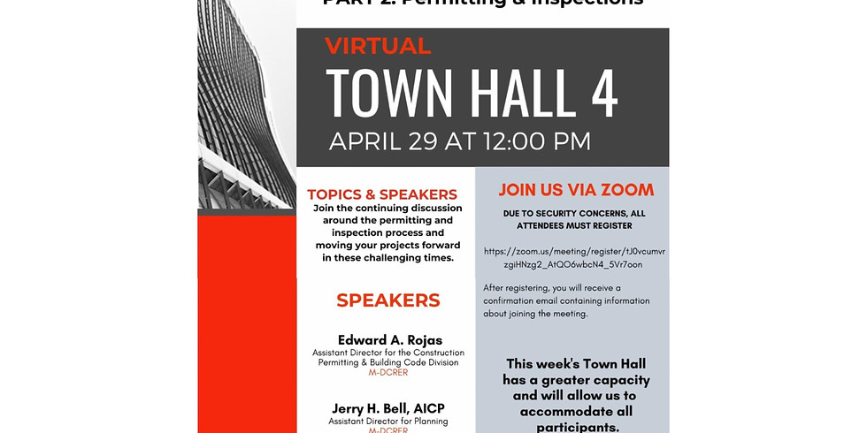12pm.  AIA Miami: Moving Projects Forward.  Inspection Process and Moving projects Forward.