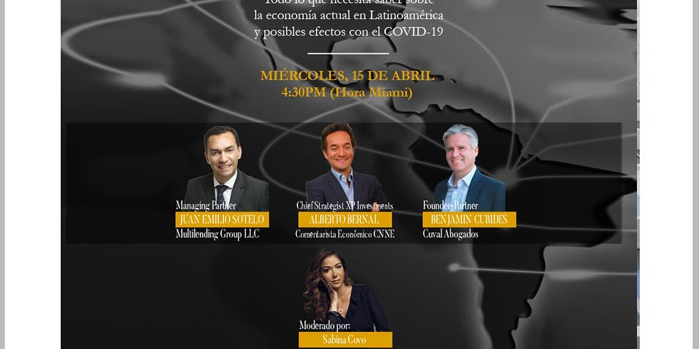 4.30pm. Panel: La nueva economía en la era del Covid-19