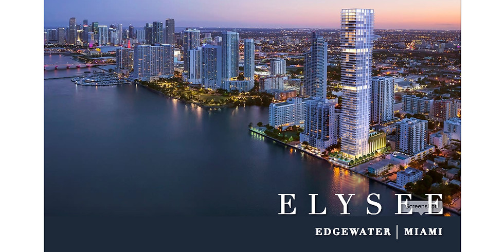 11am.   Project Presentation: Elysee in Edgewater, Florida.