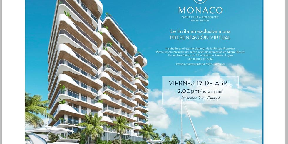 2pm.  Project Presentation: Monaco in Miami Beac, FL